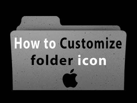 How to Customize OS X Folder Icons in transparent background with Adobe Photoshop