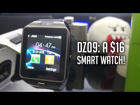 Review: The DZ09. A $16 Smart Watch With a Camera!