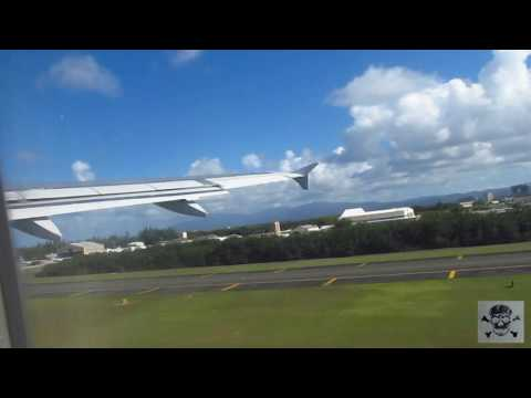 Jetblue taking off San Juan Puerto Rico SJU