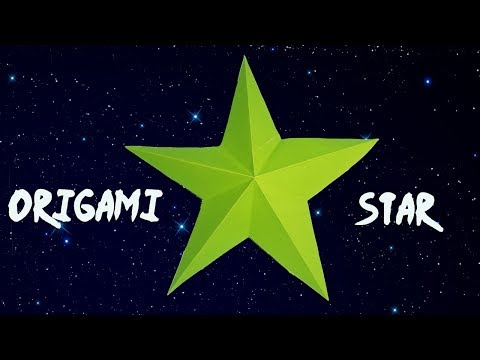 Simple 3d Paper Star Making | Easy DIY Paper Craft for Decoration