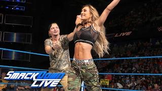 Carmella vs. Delilah Dawson: SmackDown LIVE, Jan. 31, 2017