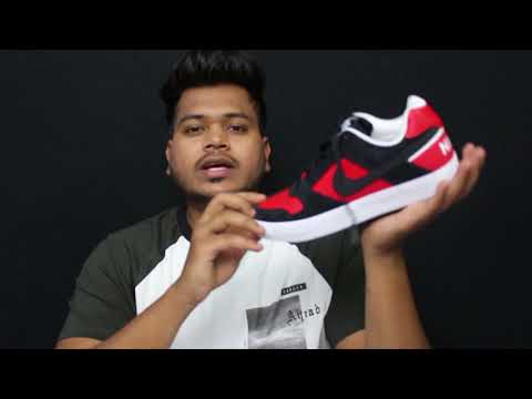 Nike Delta Force Red Black Ccolourway/ unboxing  & colour comparison | Hindi