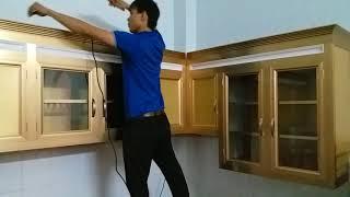 Làm Tủ Nhôm Kih1 Treo Tường Giá Rẻ - Những Hình ảnh Tủ Bếp đẹp Nhất Quận 4 Tphcm