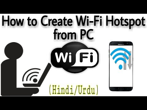 How To Create WiFi Hotspot In Windows without Router - PC/Laptop - Virtual Router (Hindi)