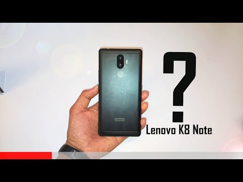 Lenovo K8 Note: The Perfect Budget Smartphone King 🤴?
