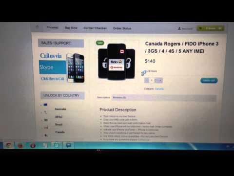 Unlock iPhone 5 / 4s / 4 Rogers Canada Permanent