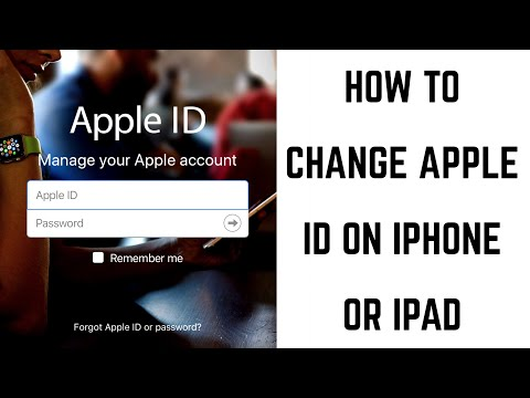 How to Change Apple ID on iPhone or iPad