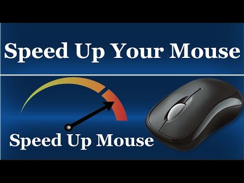 How To Increase Your Mouse Speed in Windows 7/8/10/XP - Urdu/Hindi