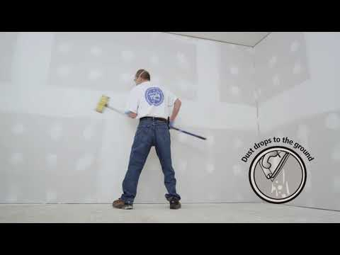 Dust Away® Roll-On Joint Compound Installation Video