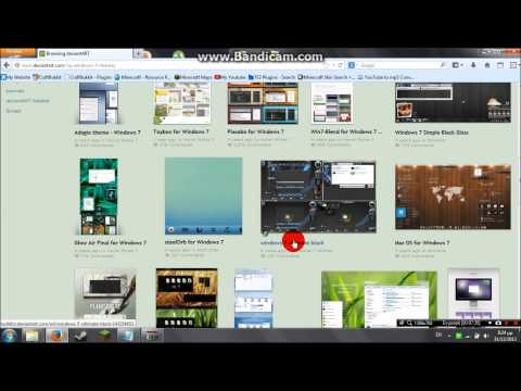 Windows 7 How to download & install custom themes