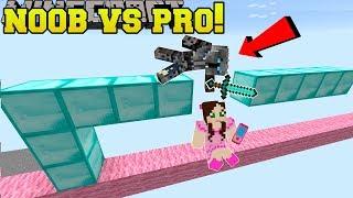 Minecraft: NOOB VS PRO!!! - CRAFTY MONKEY! - Mini-Game