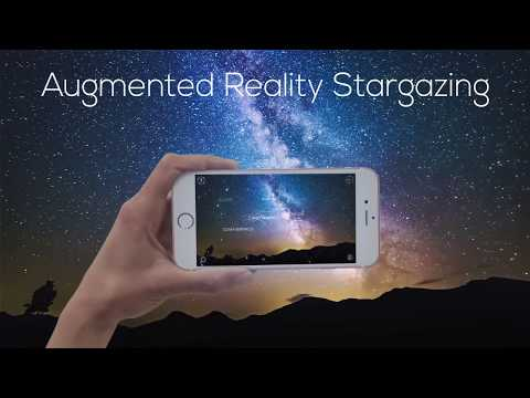Night Sky Map in Augmented Reality - Star Walk 2 app
