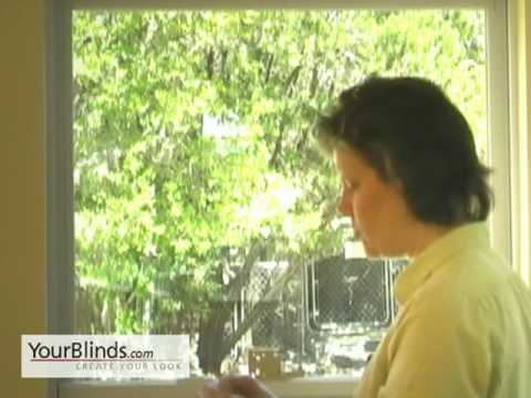 Installing Faux Wood Blinds - Outside Mount - YourBlinds.com DIY