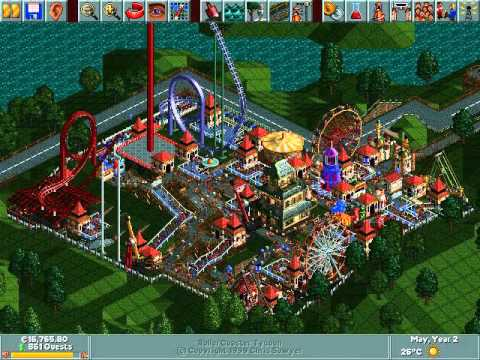 RCT 1: Dinky Park timelapse