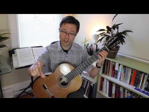 Lesson & Free PDF: Leyenda Theme for Classical Guitar (Beginner)