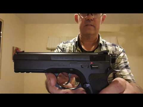 CZ 75 SP-01 Reload in 1.5 Seconds with Cover Garment