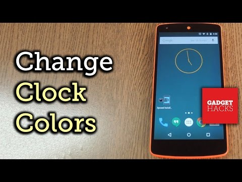 Change the Clock Widget Color on Android [How-To]