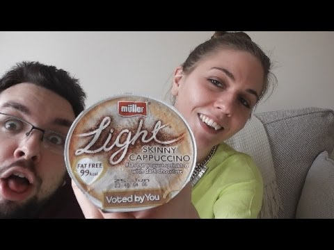 Muller Light Skinny Cappuccino Yoghurt Review