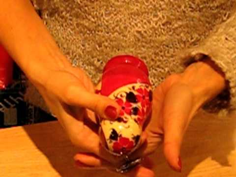 Annushka Russian Dolls - How to open them when new