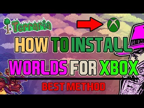 How To Get Terraria All Items Map For Xbox 360 And Xbox ONE (NEW WORKING METHOD)