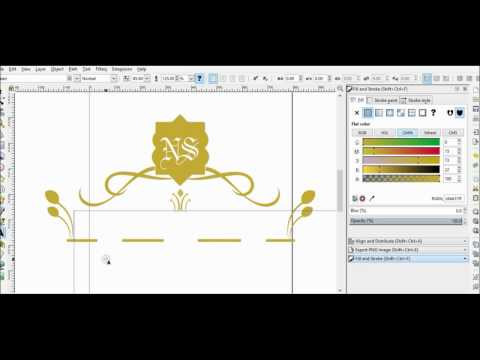 Wedding And Title Decoration Template - Free Vector Image