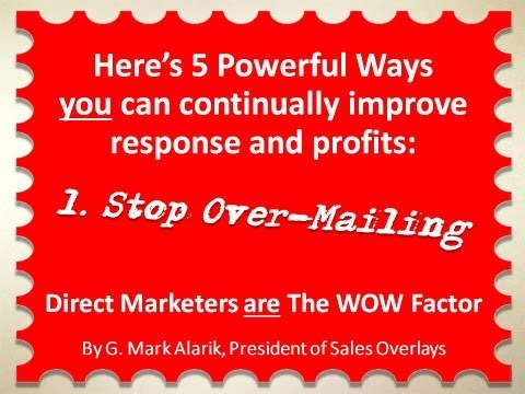 2nd VIDEO: Integrated Direct Marketing for 2016! http://youtu.be/iRef9gFyPp8
