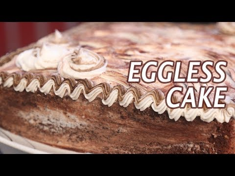 Eggless Cake | Mallika Joseph Food Tube