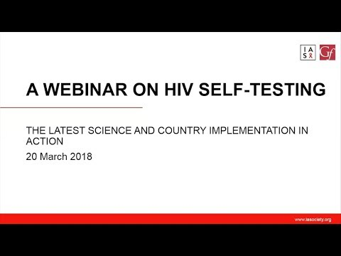HIV self-testing: the latest science and country implementation