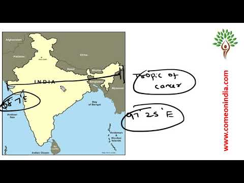 Prelims 2018 Revision videos - Geography - Important facts on India