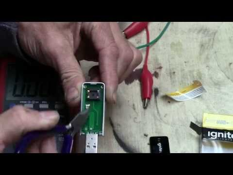 USB Lighter Battery Pack Hack