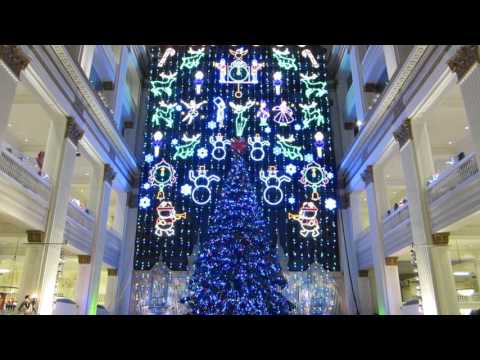 John Wanamaker, Macy's Philadelphia Holiday light show finale 2015