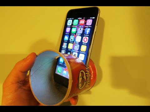 Make iPhone Speakers from Everyday Items!