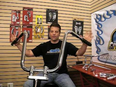 Motorcycle Risers - Adjust Your Handle Bars with Ease - Video Guide: Tip of the Week