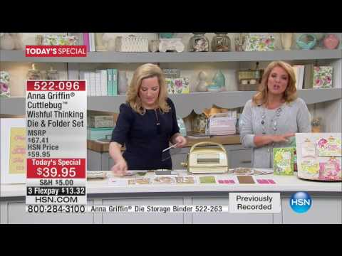 HSN | Anna Griffin Elegant Paper Crafting 7th Anniversary 01.10.2017 - 04 AM