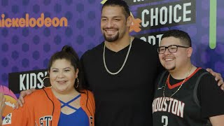 Rousey and Reigns join the 2018 Nick Kids