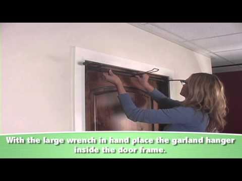 Assembly Instructions - Single Door Slim Garland Hanger