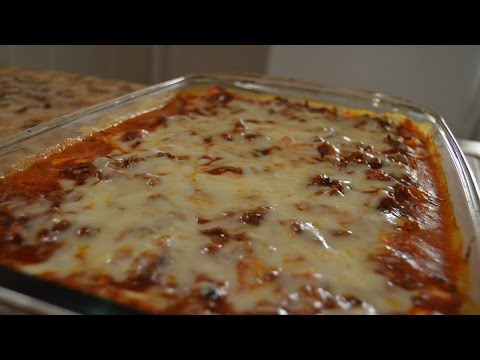 Meaty Cheesy Lasagna - How to make Lasagna Quicker