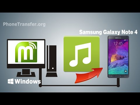 How to Sync Music to Galaxy Note 4, Transfer Music from Computer to Samsung Galaxy Note 4