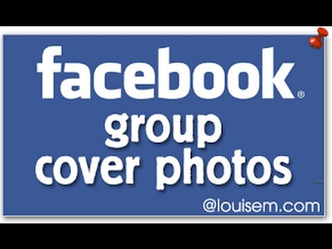 How to change your Facebook group cover photo