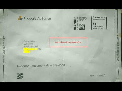 Google Adsense Verification Process With in Second !!