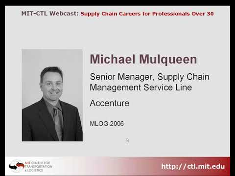Supply Chain Careeers for Professionals Over 30