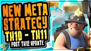 TH10 MINER ATTACK STRATEGY 2018 - LEVEL 3 MINERS WRECK TH10s - CLASH