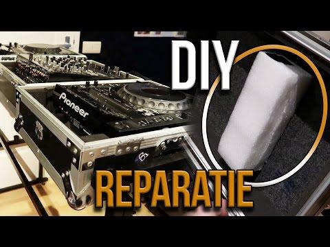 DIY Flightcase reparatie | DJTIMOTHY