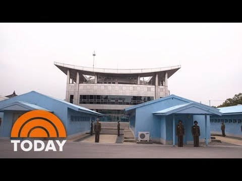 Get A Rare Look Inside North Korea's Demilitarized Zone | TODAY