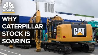 Why Caterpillar's Stock Is Soaring