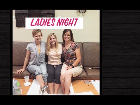 9/50 days of summer with nix Ladies night out