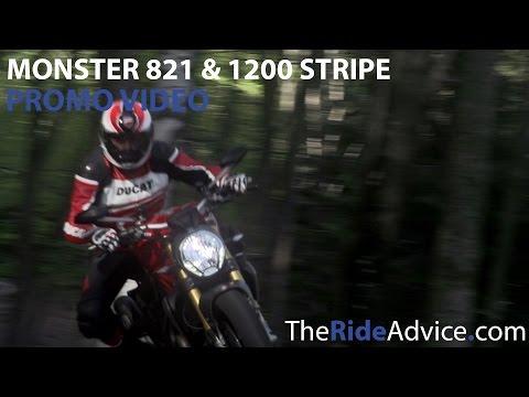 Ducati Monster 821 and 1200 Stripe