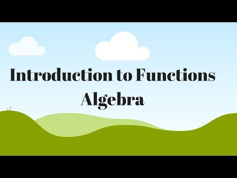 Function (Understand What This Means In Algebra)