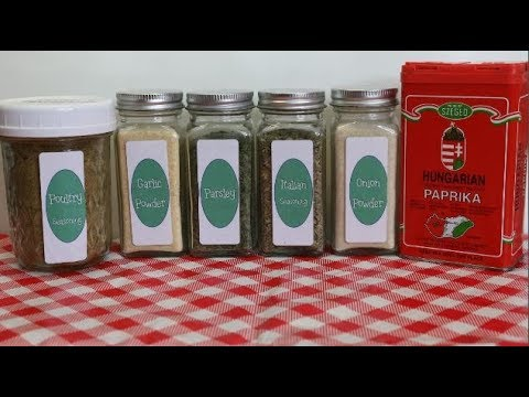 My Top Six Essential Savory Spices ~ Top Six List ~ Spice Rack Essentials ~ Noreen's Kitchen