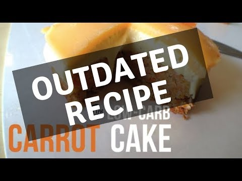 Keto Carrot Cake | Low-Carb Carrot Cake Recipe | Sugar-free Carrot Cake